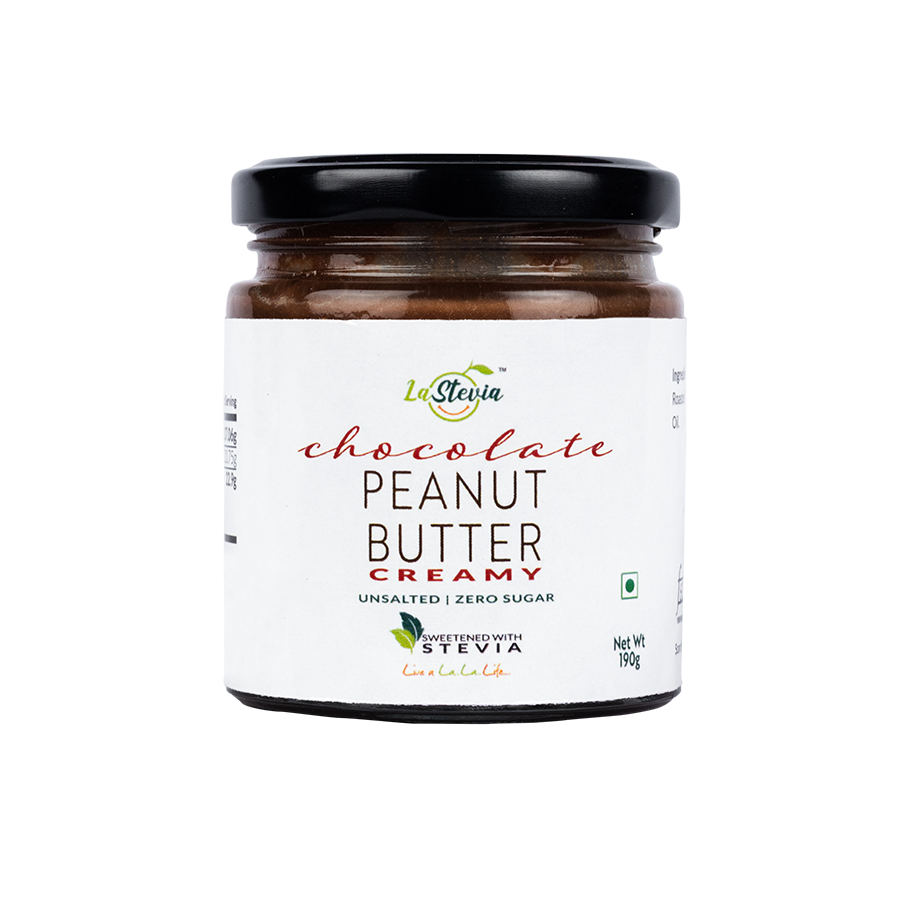 Stevia-Sweetened Chocolate Peanut Butter Creamy