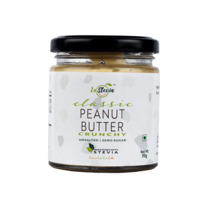 Stevia-Sweetened Classic Peanut Butter Crunchy