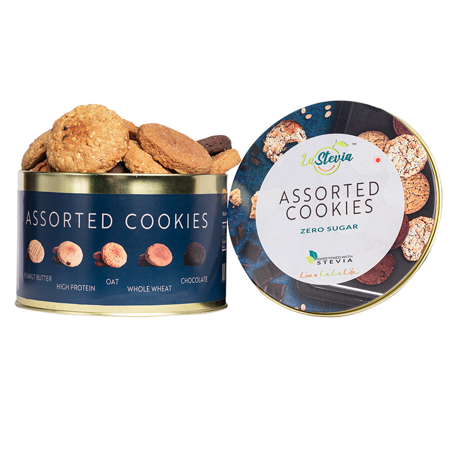 Stevia Sweetened Assorted Cookies
